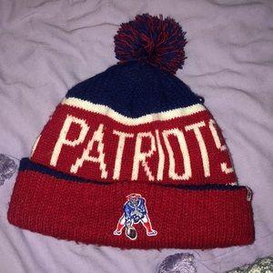 Patriots knit beanie